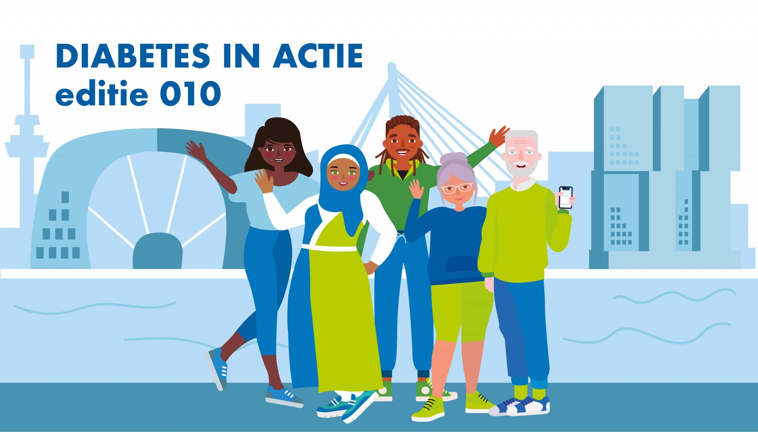 Diabetes in actie Rotterdam